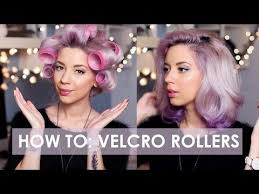 what type of hair is use for big box braids this is how you actually use velcro hair rollers velcro rollers