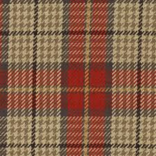 Black And Gold Upholstery Fabric Brennan Cardinal Red Plaid Check Cotton Upholstery Fabric By Roth
