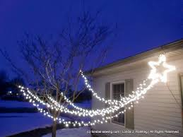 shooting star icicle lights ingenious idea shooting star christmas lights outdoor icicle