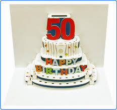 popup 50 happy birthday cake 4 99 a great popup 50 happy
