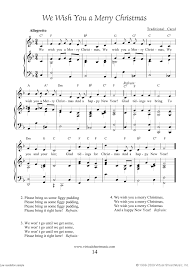 free we wish you a merry sheet with lyrics and mp3
