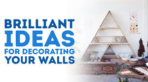 amazing ideas for decorating your walls l 5 minute crafts youtube