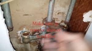 pfister tub shower 3 handle valve replacement youtube