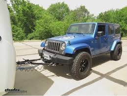 2014 jeep towing blue ox tow bar installation 2014 jeep wrangler unlimited