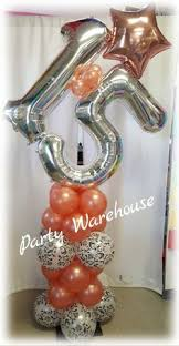 want these rose gold number balloons for my 22nd pink