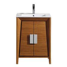 Mid Century Modern Vanity Midcentury Modern Bathroom Storage Houzz