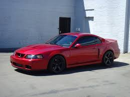 Red Mustang Black Wheels Post Pics Of Red Stangs With Black Wheels Svtperformance Com