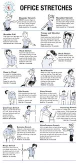 Office Desk Exercise Workouts At Your Desk Exercise Office Chair Study