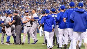 rangers jays u0027 benches clear in alds game 2 mlb com