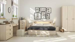 decoration de chambre de nuit décoration scandinave pour chambre à coucher moderne