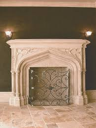 fireplace awesome unique fireplace mantels designs and colors