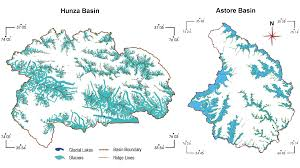 Karakoram Range Map Remote Sensing Of The Glacial Environment Influenced By Climate