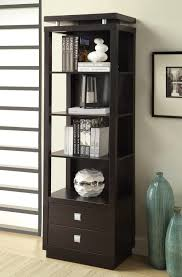 Wallunits Coaster Fine Furniture 800354 Wall Units Media Tower