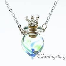 memorial pendants wholesale baby urn necklace urn necklace for ashes locket urn