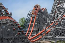 Six Flags Parking Wicked Cyclone Six Flags New England