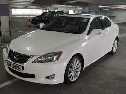 white lexus is 250 tak lee motors h k limited lexus is250 deluxe
