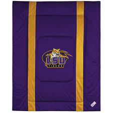 Tiger Comforter Set Lsu Tigers Blankets Louisiana State University Pillow Lsu Tigers