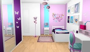 chambre fille bleu chambre fille bleu et violet lzzy co avec chambre fille et