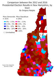2016 Presidential Election Map What On Earth Happened In 2016 Part 1 U2013 New Hampshire Statewide