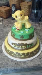 Lion King Baby Shower Cake Ideas - lion king baby shower lion king baby shower cake baby 2