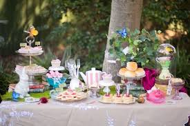 tea party tables karas party ideas dessert table from an in tea