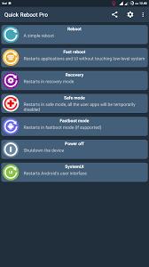 fast reboot pro apk aplikasi reboot pro v 5 7 pro apk terbaru unni end