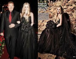 black wedding dress one of a fashion 10 amazing coloured wedding