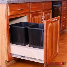 Kitchen Cupboard Garbage Bins by 110 Best Kitchen Cabinet Plans Images On Pinterest Kitchen