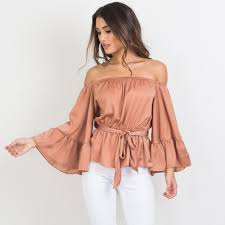 shoulder cut out blouse buy shoulder cutout shirt and get free shipping on aliexpress com