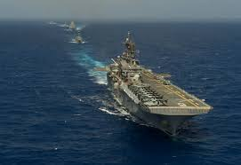 Us Navy Map Of Future America by Underway On Uss America