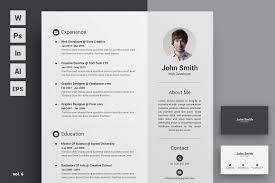 Best Resume Paper White Or Ivory by Resume Cv Resume Templates Creative Market