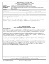 Da Form 4856 Initial Counseling Fillable Army Counseling Form Templates Fillable Printable Sles For