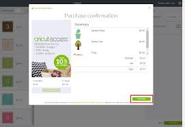 how do i purchase from design space cricut help center