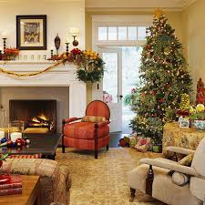cozy decoration ideas for entrancing christmas living room