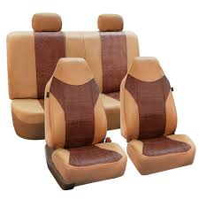lexus seat covers nz faux leather car seat covers tan brown top quality for car suv