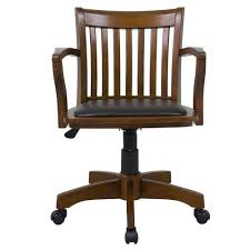 home decorators collection oxford chestnut office chair 1970900970