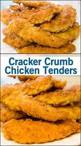 cracker crumb chicken tenders joy in every season