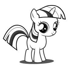 Baby Twilight Sparkle Baby Pony Coloring Pages My Pony Coloring Pages Twilight