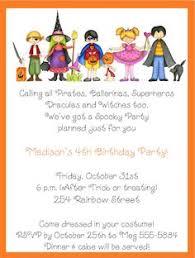 halloween birthday invitation make their birthday special with