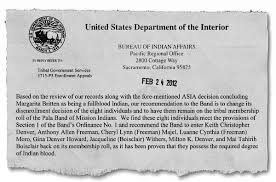 United States Department Of Interior Bureau Of Indian Affairs Can You Find The Big Secret In This Casino San Diego Reader