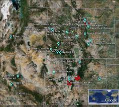 Map Of Arizona And Utah by The Latest Worldwide Meteor Meteorite News Colorado New Mexico