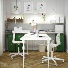 Beautiful Home Office Furniture Ikea Amazing White Workspace S And - Home office desks ideas