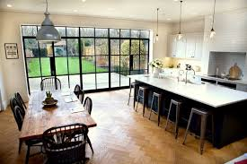 extensions kitchen ideas stunning open plan kitchen and living area in by zona
