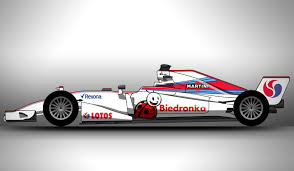 martini rossi racing williams biedronka martini lotos racing livery concept after new