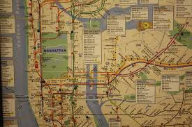 Nyc City Subway Map by Old Subway Map My Blog