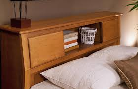 Bookcase Headboard Queen Bedroom Perfect Combination For Your Bedroom With Queen Size