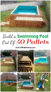 15 Unique Pallet Picnic Table 101 Pallets by Build A Swimming Pool Out Of 40 Pallets 101 Pallet Ideas