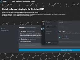 discord integration discord api integration plugin october cms