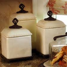 kitchen canisters ceramic sets beige kitchen canisters gg collection set of 3 ceramic barcelona