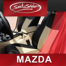 housse siege de voiture personnalisé mazda mx 3 coupe cuir veritable housse de sieges voiture